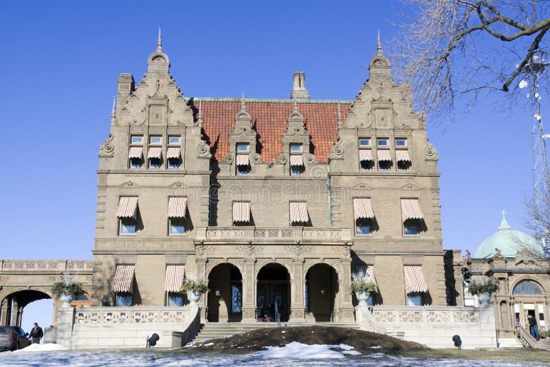 Ansichten des Pabst Villenmuseums lizenzfreies stockfoto