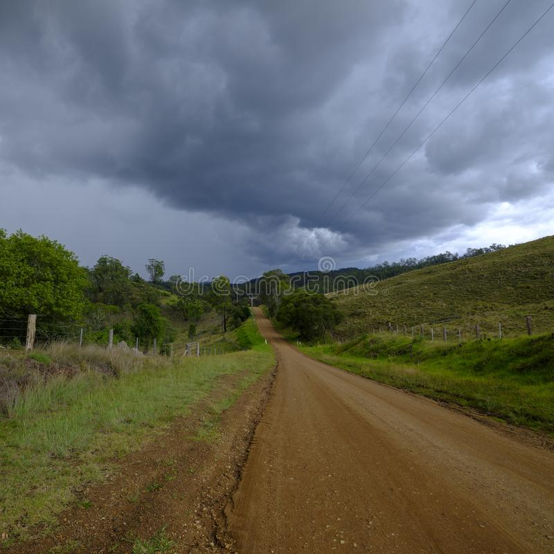 Ansichten um Millfield und Cessnock in Hunter Valley, NSW, Australien lizenzfreie stockfotos