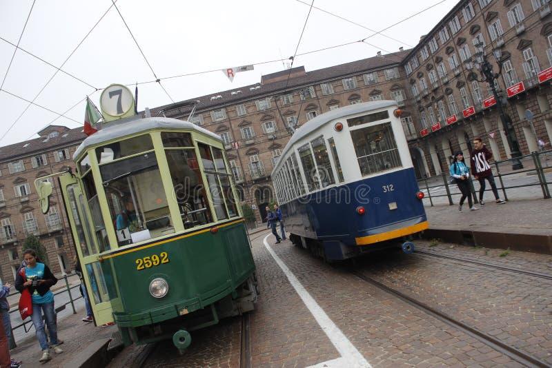 Ansichten und Details von Turin stockfoto