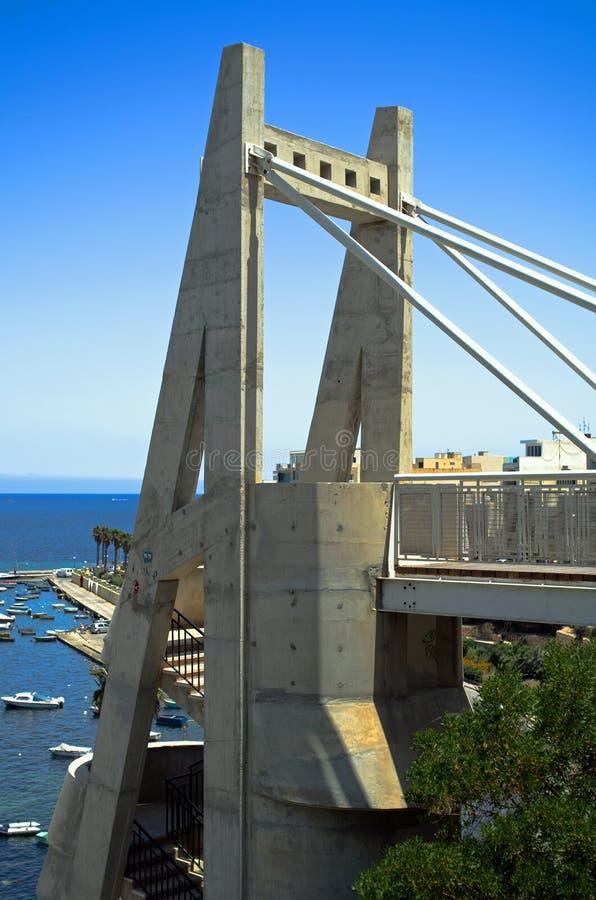 Ansichten von Malta stockbilder