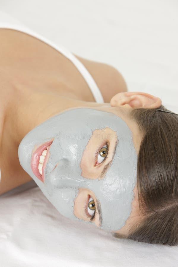 ansikts- maskering royaltyfri bild