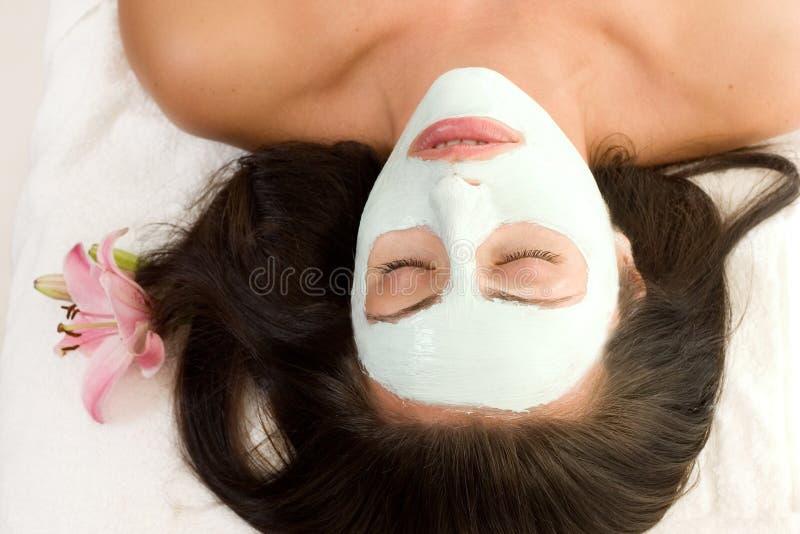 ansikts- maskering arkivbild