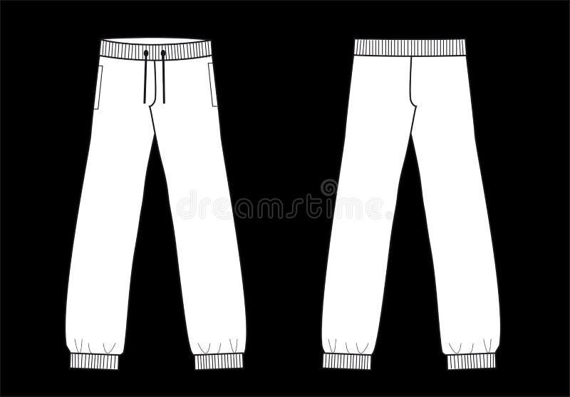 Download Ansima L'industria Della Moda Di Schizzo Dell'indumento Dei Pantaloni Illustrazione Vettoriale - Illustrazione di abito, tasca: 56881340