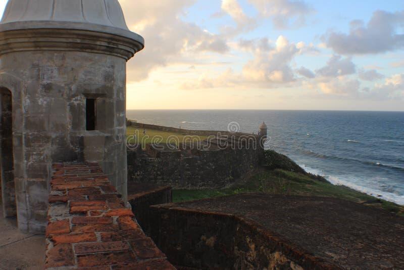 Ansluta in till Puerto Rico royaltyfri foto