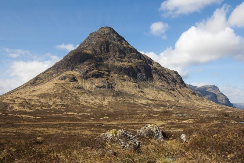 ANSR de Buachaille Etive, Glencoe Scotland fotos de stock royalty free
