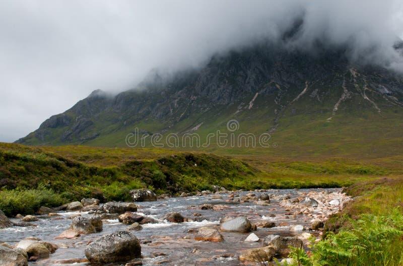ANSR de Buachaille Etive, Glencoe Scotland imagem de stock royalty free
