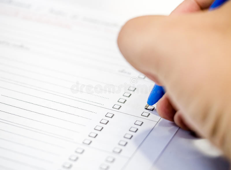 how to answer a questionnaire