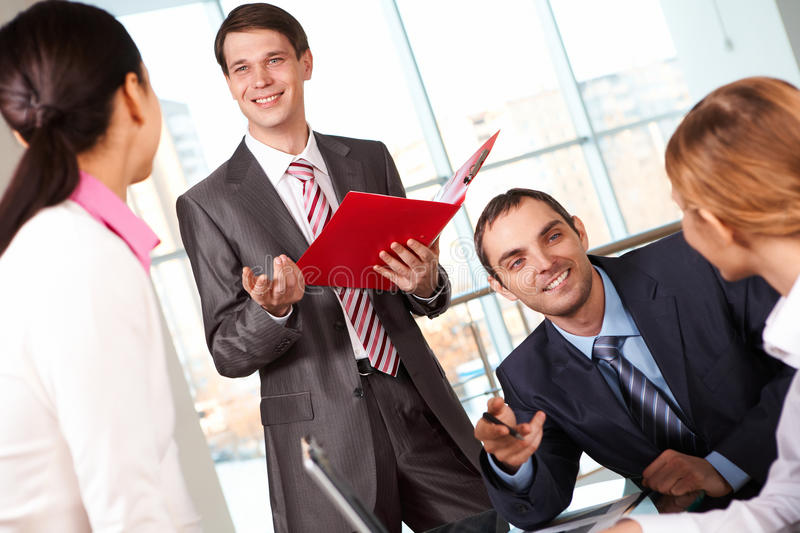 Download Answering questions stock photo. Image of expertise, female - 12515090