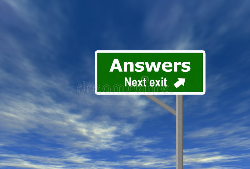 Answers Royalty Free Stock Photo