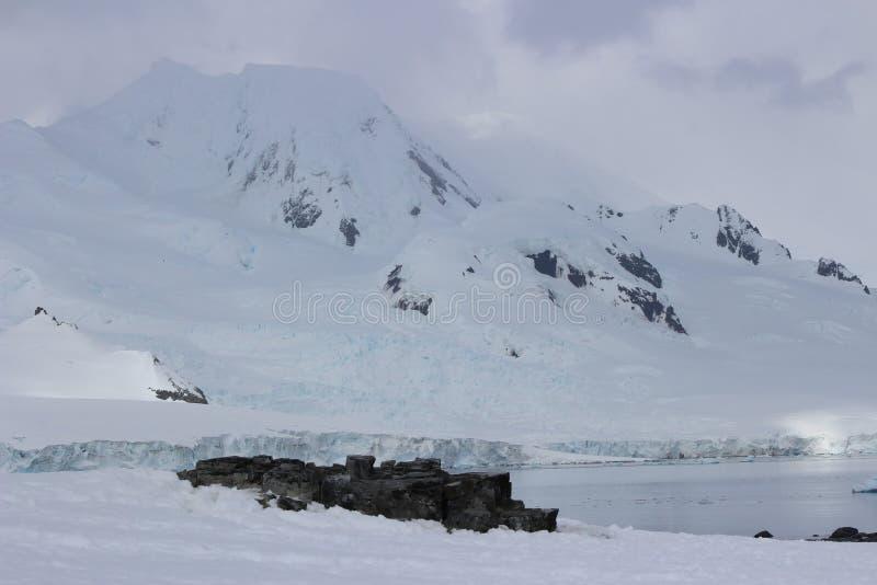 A Antártica - paisagem imagem de stock royalty free