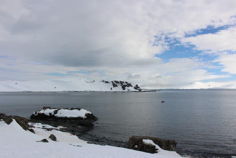 A Antártica - paisagem fotografia de stock royalty free