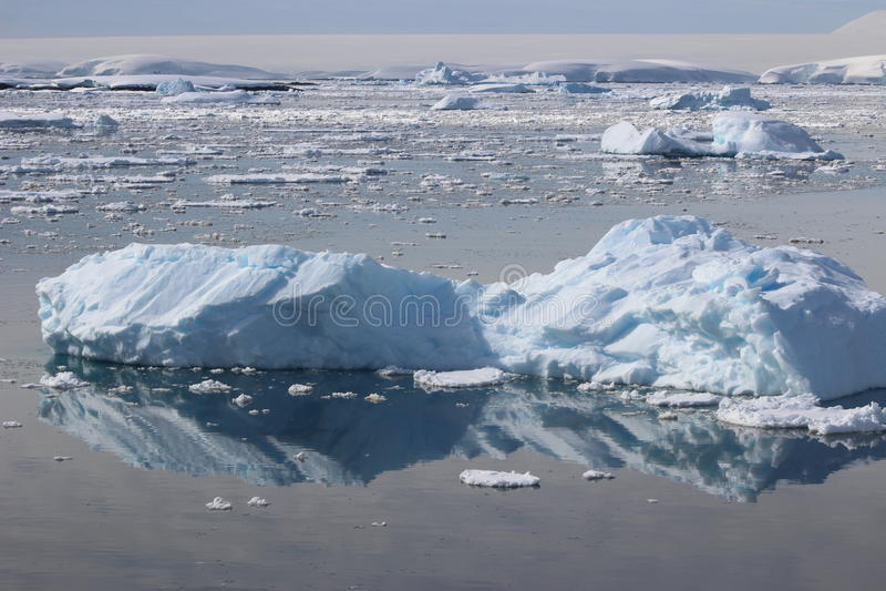 A Antártica - paisagem fotos de stock royalty free