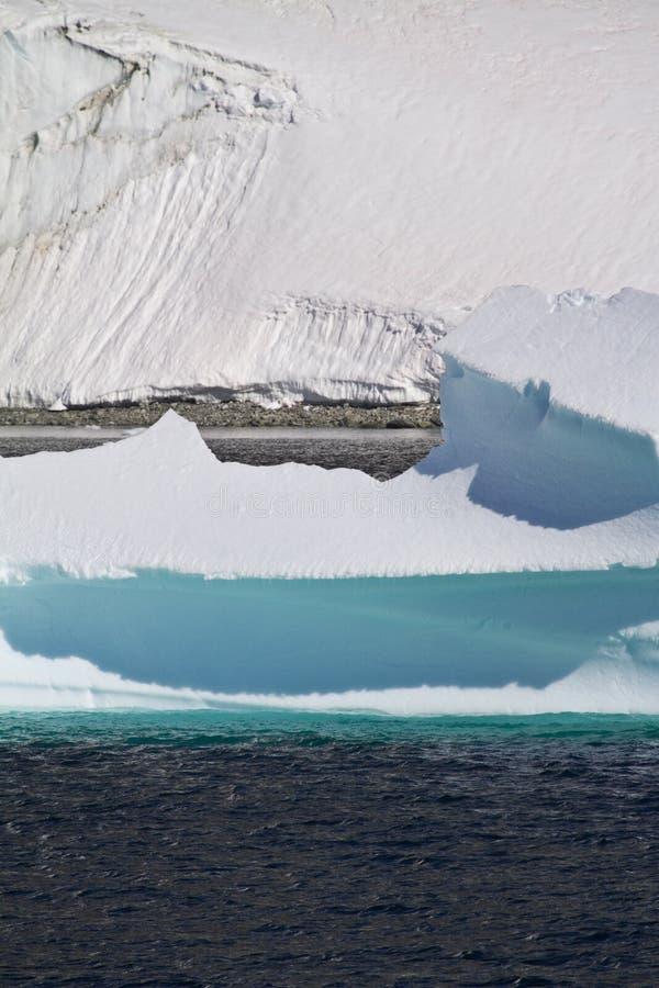 A Antártica - paisagem polar fotos de stock