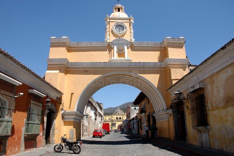 Antígua - Guatemala fotos de stock royalty free