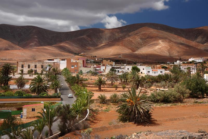 Antígua, interior da cidade pequena imagem de stock royalty free