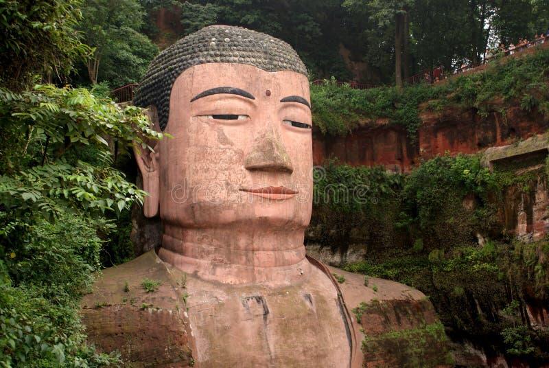 Ant Buddha en Leshan, Sichuan, China imagen de archivo