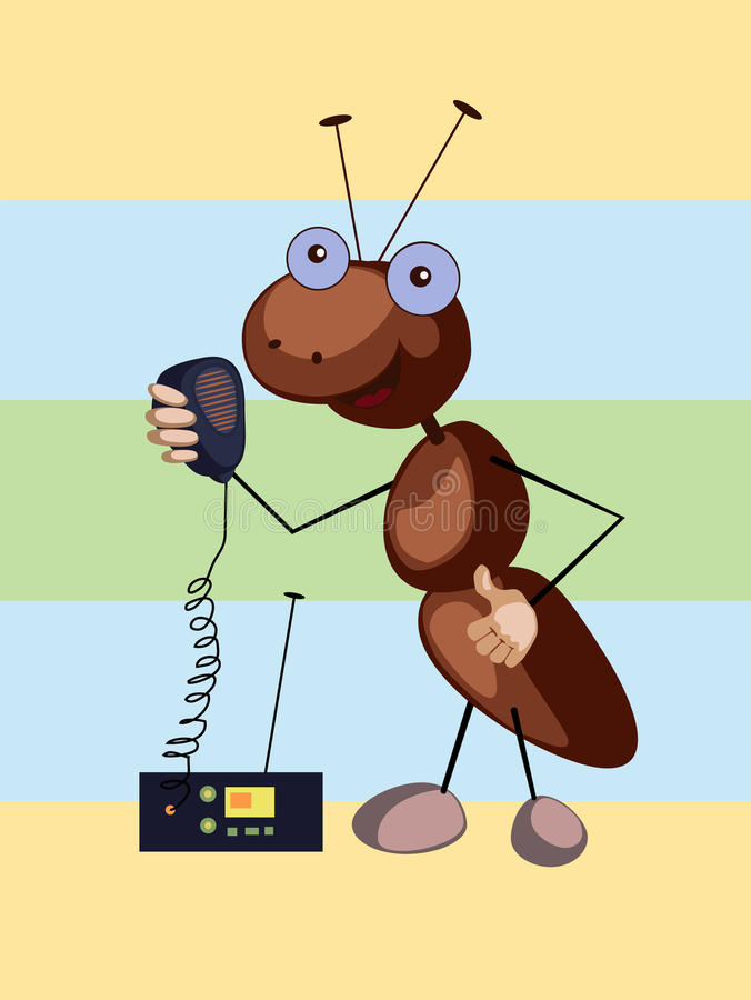Ant-signaller royalty free stock images