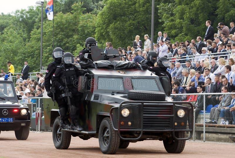 anta parady terrorysty jednostka zdjęcia royalty free