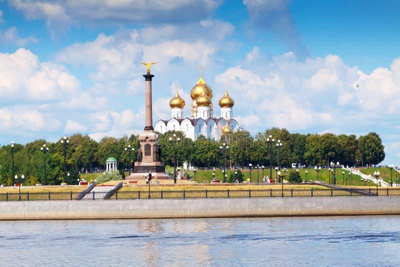 Download Antagandedomkyrka I Yaroslavl Arkivfoto - Bild av berömdt, landmark: 27279174