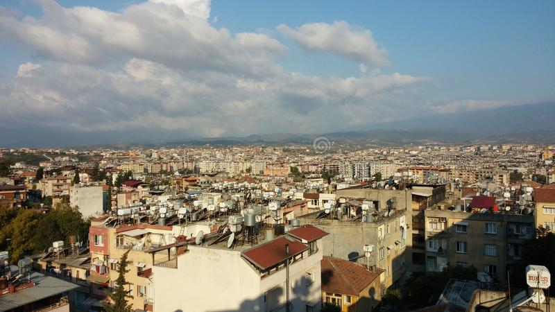 Antakya (Antioch) City Scape royalty free stock images