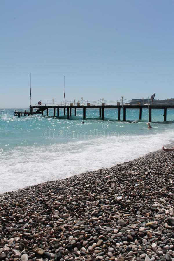 Antalia παραλιών Kemer στοκ φωτογραφίες
