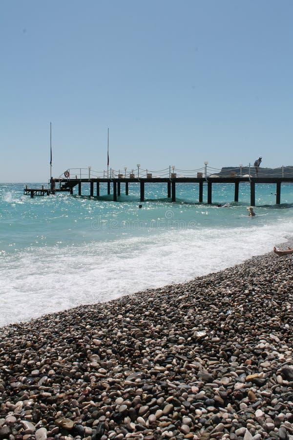 Antalia пляжа Kemer стоковые фото
