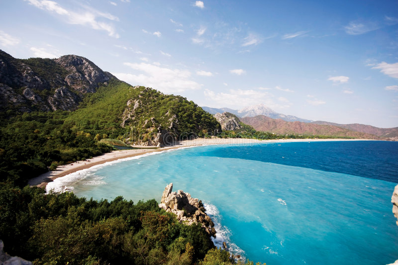 Download Antalya stock image. Image of forest, mountain, olympos - 7295431