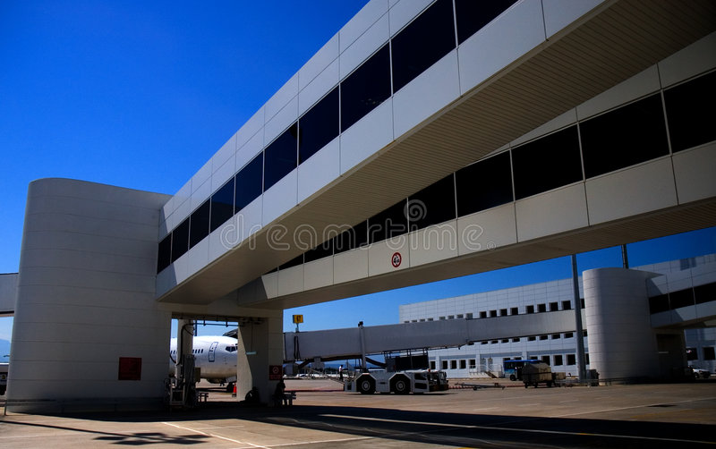 Antalya airport. royalty free stock photography