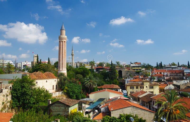 Antalya gammal stad royaltyfri bild