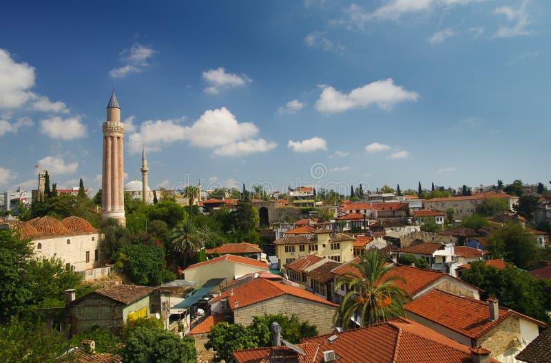 Antalya gammal stad royaltyfri foto