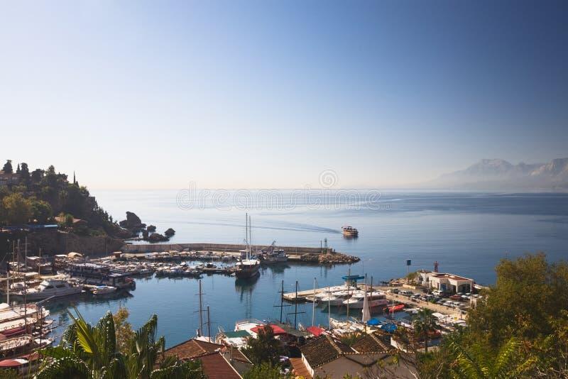 Antalya, Harbor stock photos