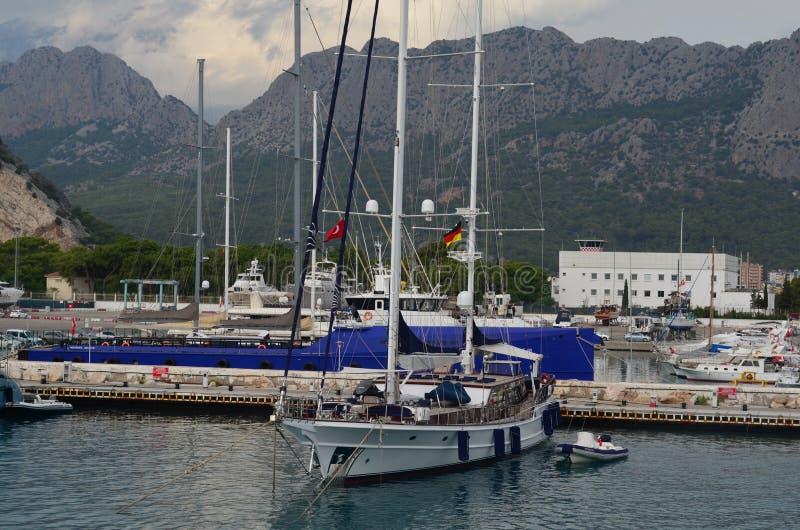 Antalya im Sommer stockfotografie