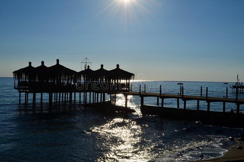 Antalya im Sommer lizenzfreie stockfotos
