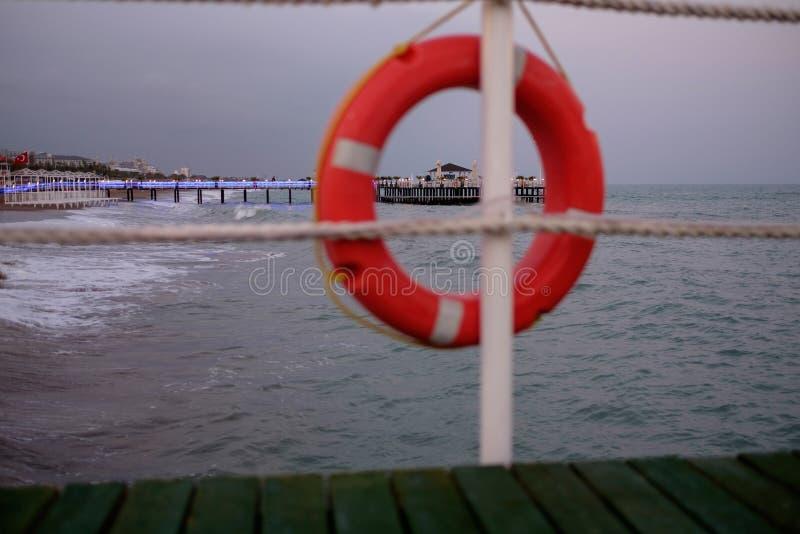 Antalya. Life saver at beach royalty free stock photography