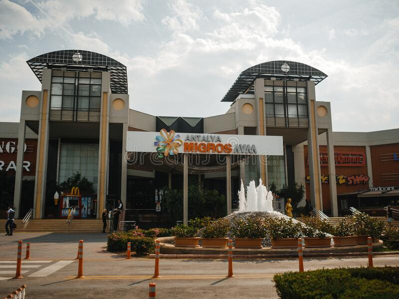 Antalya Migros Shopping Center royalty free stock photos