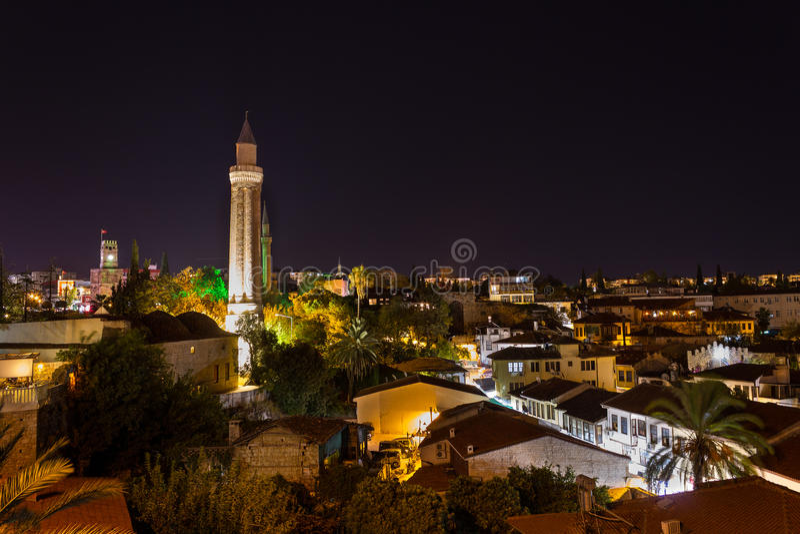 Download Antalya at Night stock image. Image of tourism, mosque - 35321037