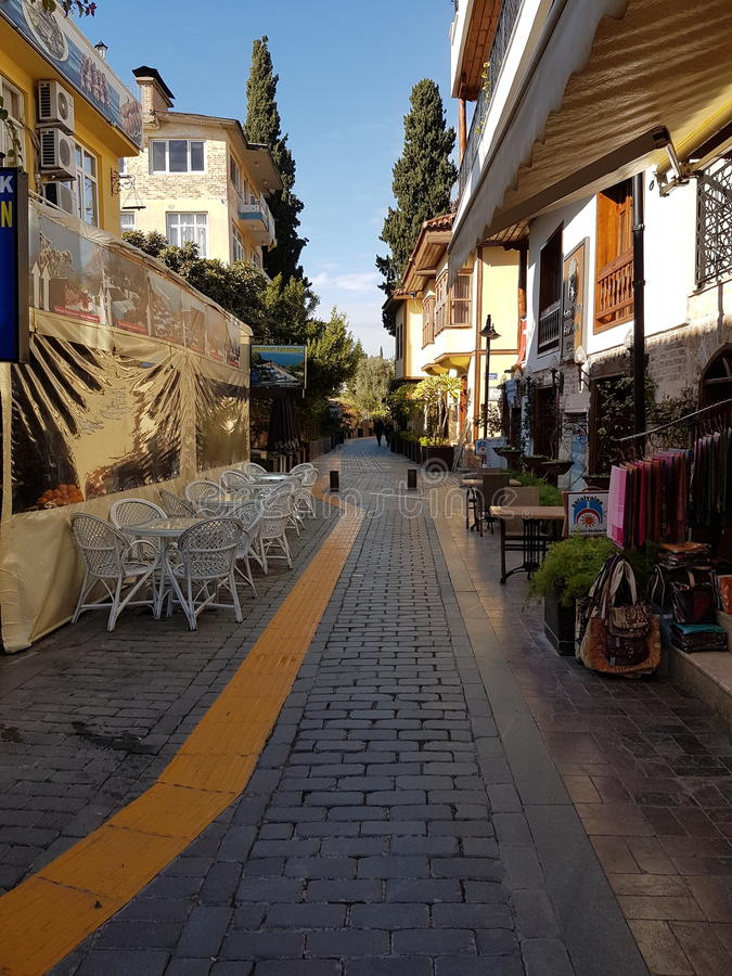 Antalya Oldtown royaltyfria foton