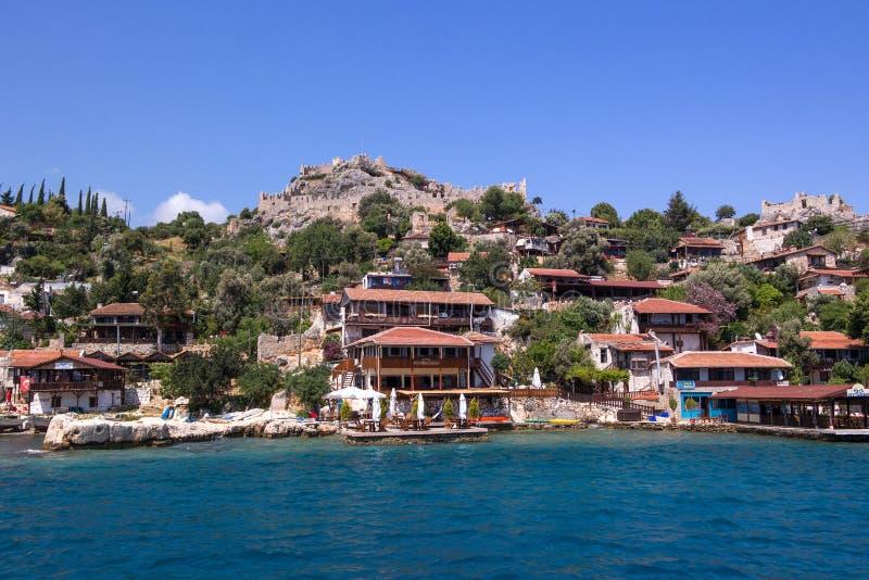 Antalya turquie 26 avril 2014 village de kalekoy sur - Maison de vacances iles turques worth ...