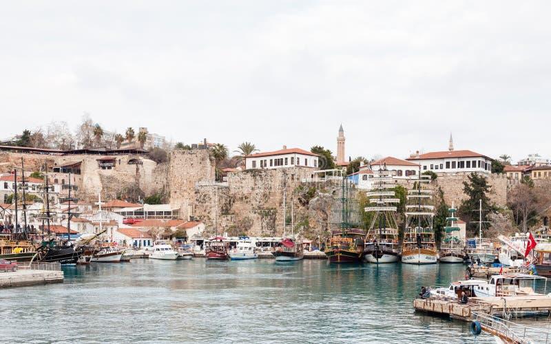 Antalyahaven stock fotografie
