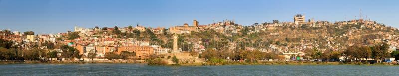 Antananarivo jeziora panorama obraz royalty free