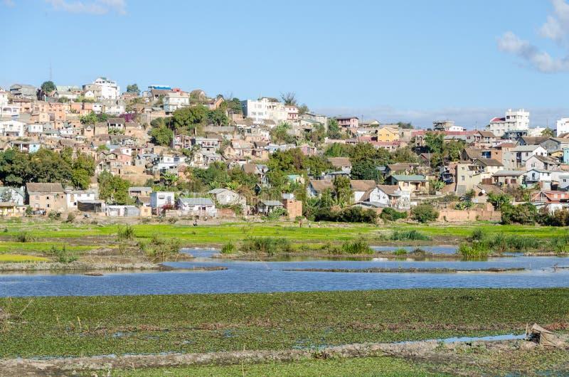 Antananarivo Madagascar stock photo