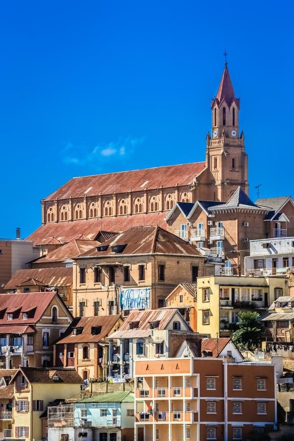 Antananarivokathedraal stock fotografie