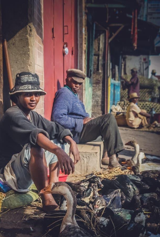 Antananarivomarkt royalty-vrije stock fotografie