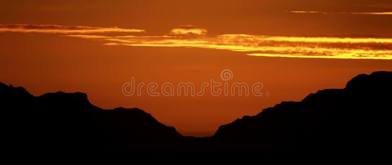 Antarctic Dawn Stock Photo