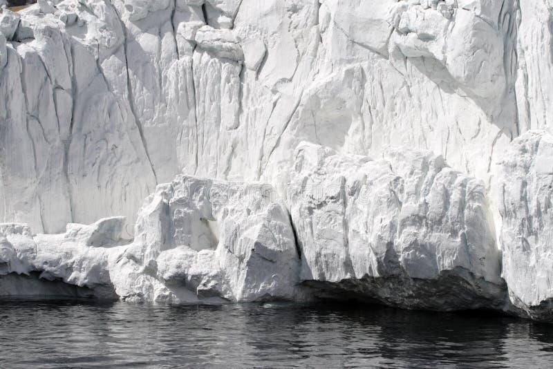 Antarctic ice shelf. Stock image of Antarctic ice shelf stock photo
