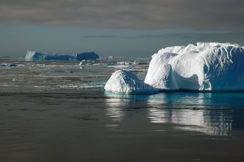 Download Antarctic Iceberg In Sunlight Stock Photo - Image: 2002474