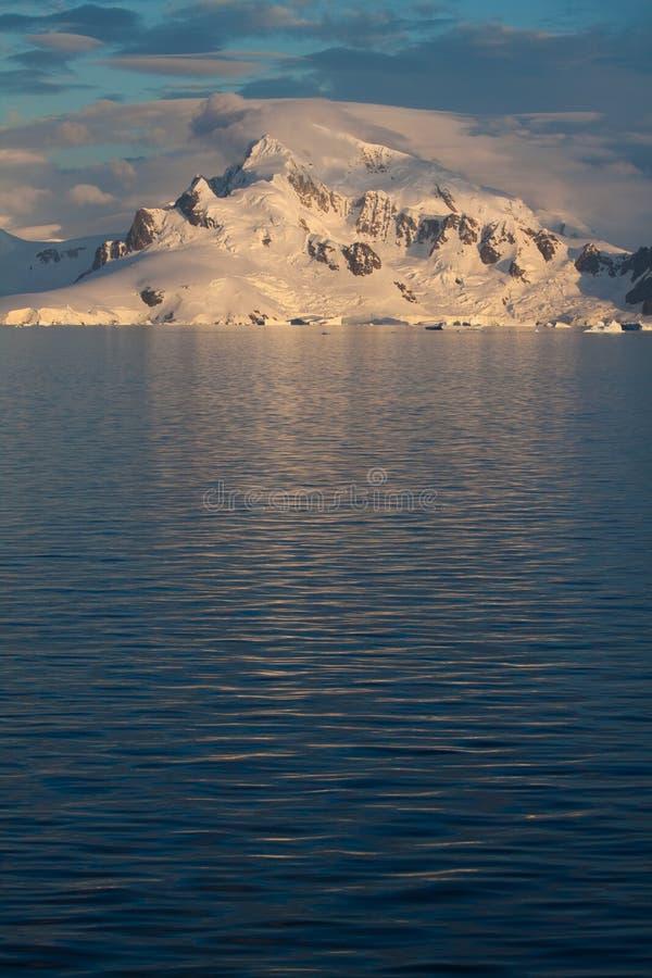 Download Antarctic Landscape vert stock image. Image of sunset - 18095949