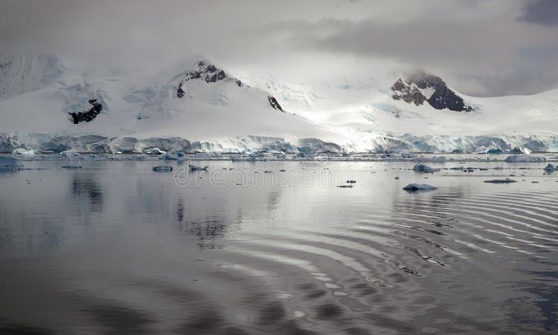Download Antarctic reflection stock photo. Image of snow, wake - 7003472