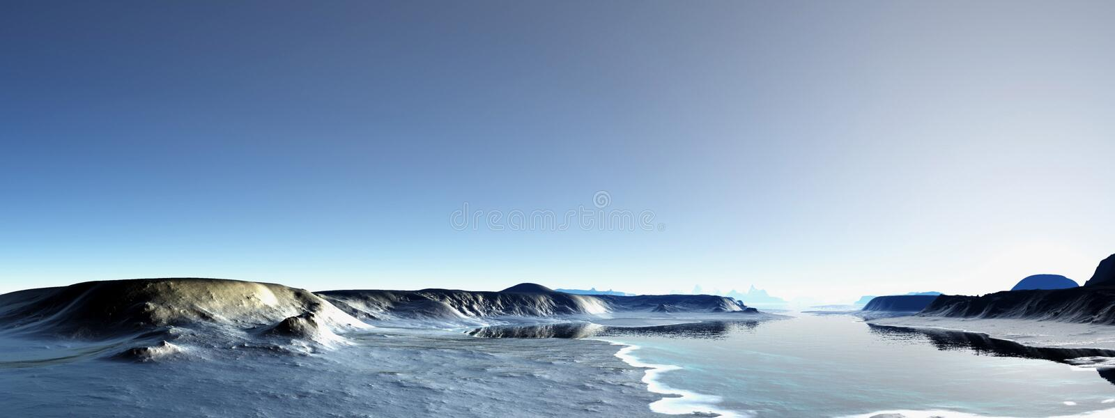 Antarctica royalty free stock image