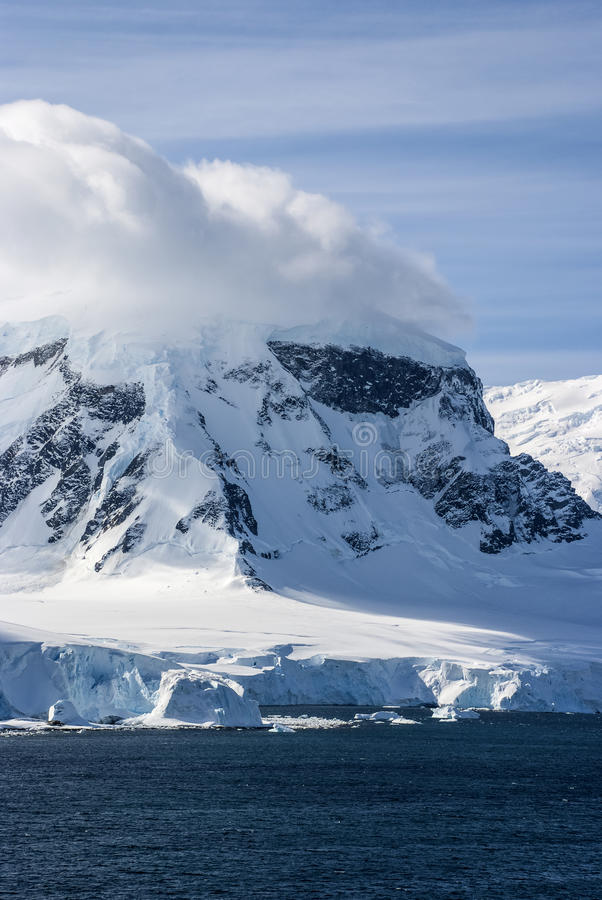 Download Antarctica - Fairytale Landscape In A Sunny Day Stock Image - Image: 39689973